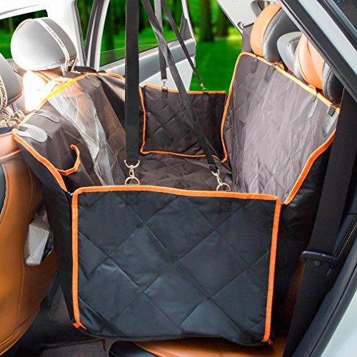 Dog Seat Cover With Side Flaps Dog Viewing Window