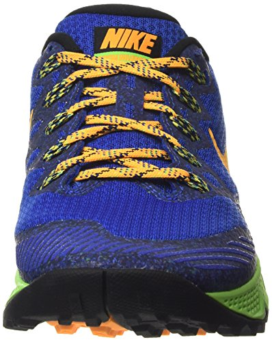 NikeAir Zoom Wildhorse 3 - Zapatillas de correr hombre azul - Blau (Game Royal/Voltage Green/Blue Lagoon)