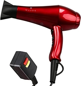 Wazor 1875W Ceramic Ionic Hair Dryer