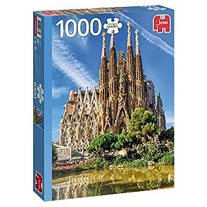 Premium Collection 18835 Sagrada Familia View Barcelona Puzzle Da 1000 Pezzi Multicolore