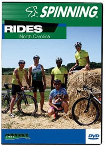 SPINNING® Fitness DVD Rides North Carolina - Bicicletas estáticas ...