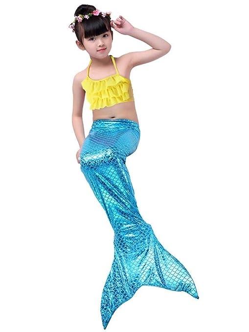 NVHAIM Cola de Sirena, Princesa Sirena Ropa/Falda Sirena ...