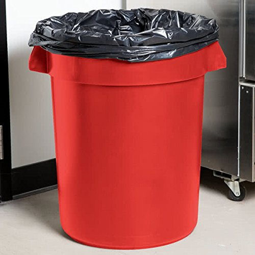 TableTop King 3200RD Huskee 32 Gallon Red Trash Can