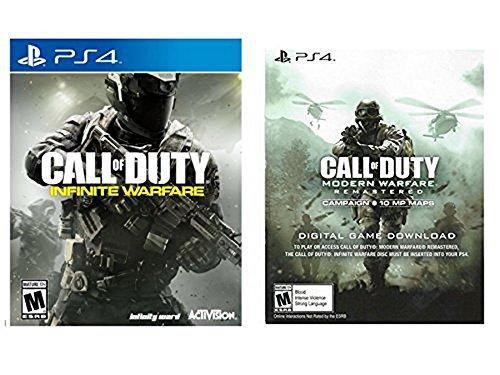 PlayStation 4 Call of Duty Infinite Warfare + Modern Warfare Remastered Digital Game - Legacy Edition