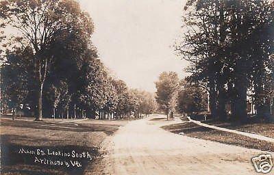 Street Real Photo Postcard - 9