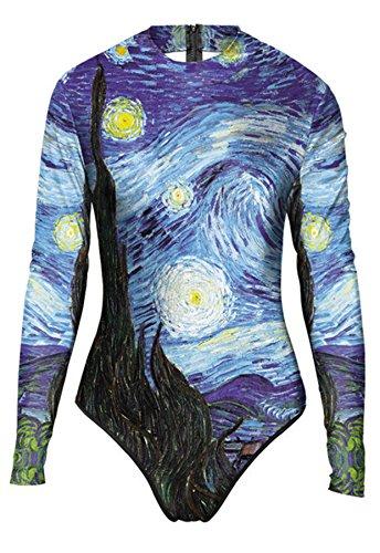 THENICE - Conjunto - para mujer Van Gogh