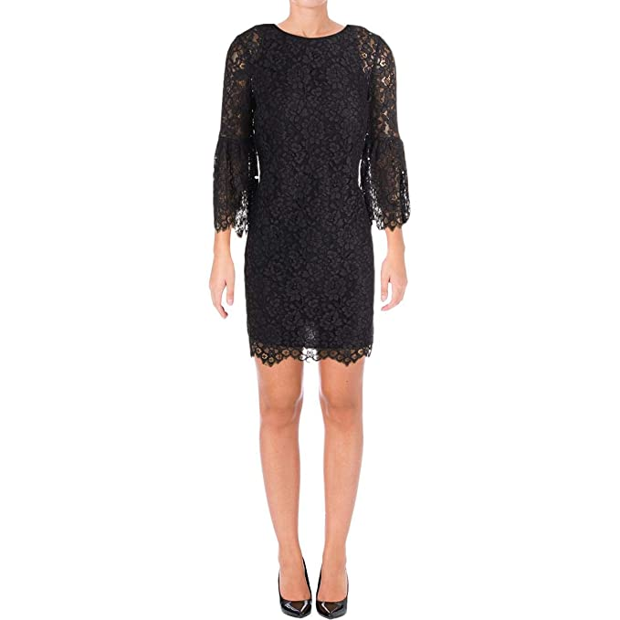 Juicy Couture Womens Floral Lace Dress