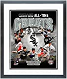 """Chicago White Sox All Time Greats Photo 12.5"""" x 15.5"""" Framed"""