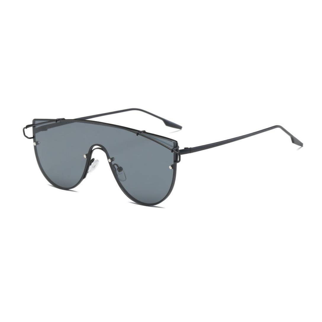 Occhiali da sole da donna Uomo polarizzati -beautyjourney occhiali da sole donna rotondi vintage sunglasses cat eye-Donna uomo Vintage Retro occhiali Aviator specchio lente occhiali da sole Unisex