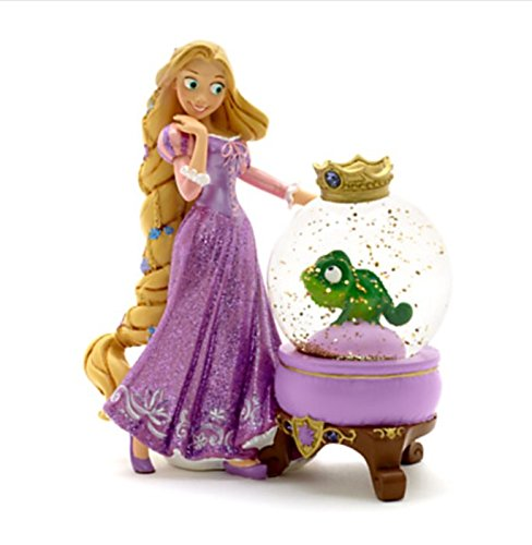 Disney Snow Globe - Rapunzel - Rapunzel and Pascal