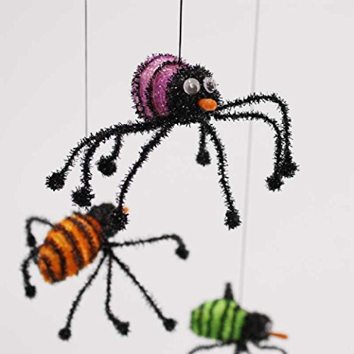 Uniton -- 31 in Dangling Spider Web with Spiders (Halloween (Dangling Spider Web)