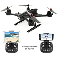 2.4G RC 6-Axis Gyro RC Quadcopters Black Drone with Wifi Camera 720P Altitude Hold Headless Mode 3D Flips