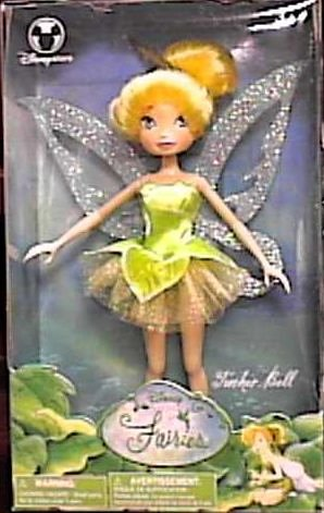 Amazon.com  Disney Fairy Tinkerbell Doll figure  Toys   Games d51e194b44
