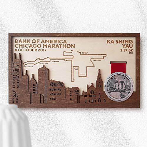 Chicago Marathon Medal Frame