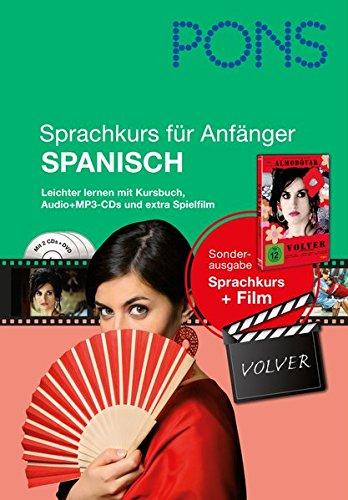 PONS Sprachkurs für Anfänger Spanisch: Leichter lernen mit Buch, Film und Audio-CD¿s