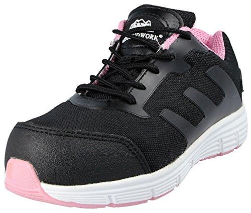 Sécurité De Adulte Groundwork Noir Rose Mixte Gr95 Chaussures OvcqUg