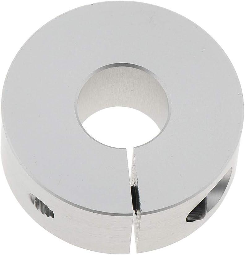 Split yotijar 2 Pcs High Precision Drill Bit Shaft Depth Stop Collar