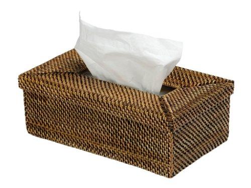 KOUBOO 1030024 Rectangular Tissue Box Cover, Nito, 10