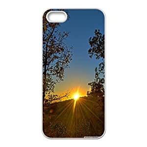 Hdr Sunrise IPhone 5,5S Cases, Phone Case for Iphone 5s Protective Cute Okaycosama - White