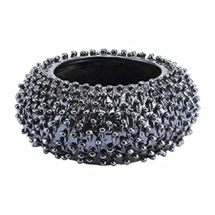 ZUO Furnitures Decorative Bowls Centerpiece Table Decor Bowl For Home  Decoration   Black