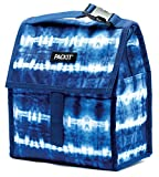 PackIt Freezable Lunch Bag with Zip Closure, Tie Dye