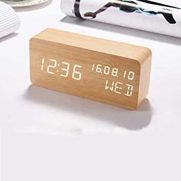 Amazon.com: ColorSpring - Reloj despertador: Home & Kitchen