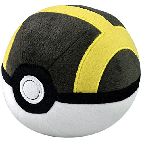 Takaratomy Pokemon Ultra Ball Stuffed Plush, 4