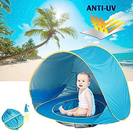 Alftek Tienda de Campaña automática para bebé, Protección contra ...