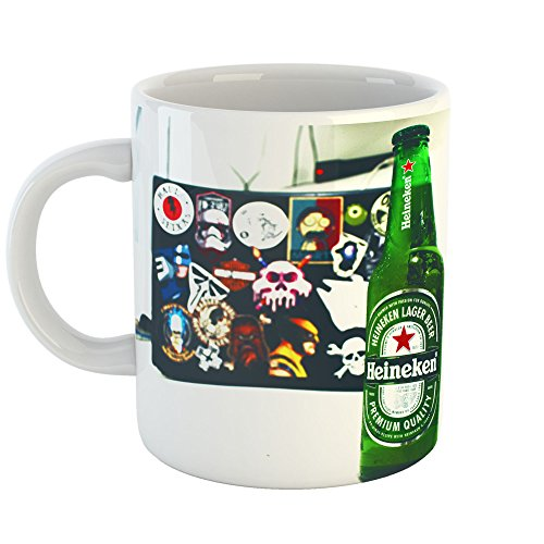 Westlake Art - Beer Bottle - 11oz Coffee Cup Mug - Modern Picture Photography Artwork Home Office Birthday Gift - 11 Ounce (E2B2-40B67) (Heineken Beer Label)