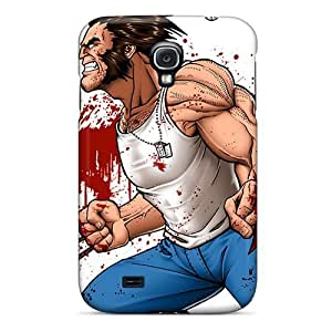 Tpu Case For Galaxy S4 With Wolverine