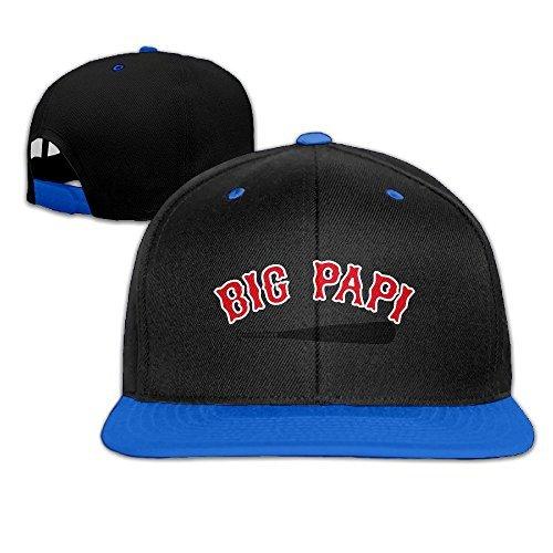David Ortiz Big Papi Baseball Kids Baseball Hats One Size (Dominican Republic Bundle)