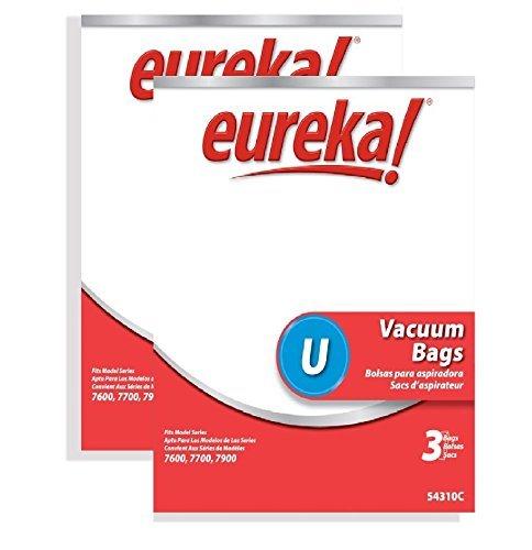 - Genuine Eureka Style U Disposable Vacuum Bag 54310
