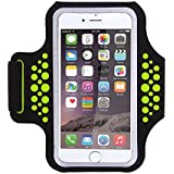 Triomph Armband for iPhone X, iPhone 8 Plus, 7 Plus, 6 Plus, 6s Plus, 6s iPod Galaxy S6, S6 Edge, S7 Edge Plus with Key Cards Money Holder, for Running, Sports, Jogging, Hiking, Biking 5.8''