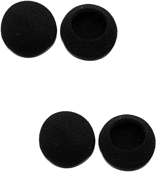 Ogquaton Auriculares algodón Reemplazo de Auriculares Almohadillas diámetro 50 mm Juego de 4: Amazon.es: Hogar