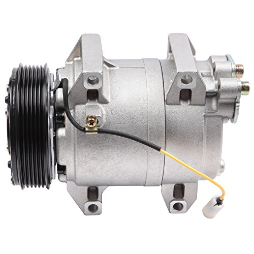 (SCITOO Compatible with Auto Repair Compressor Assembly CO 11044JC AC Compressor and A/C Clutch Kit fit 2001-2009 Volvo S60 S80 V70 XC70 2.3L 2.4L 2.5L)