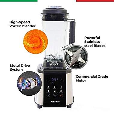 Balzano 1800W Professional Commercial Grade Power Blender (Silver) 11