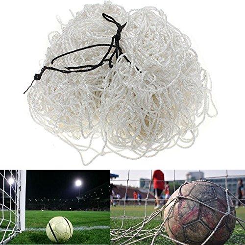 OUTERDO Full Size 8 x 6 Ft Soccer Net High-strength material Football Goal Post Nets junior