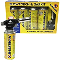 Kit de soplete de gas butano, lanzallamas,