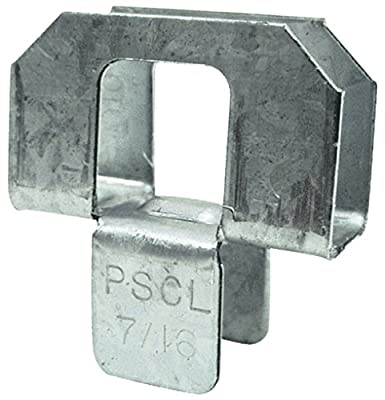 Simpson Strong Tie PSCL 7/16 20-Gauge 7/16 in. Plywood Sheathing Clip (250 Qty) 250-per box