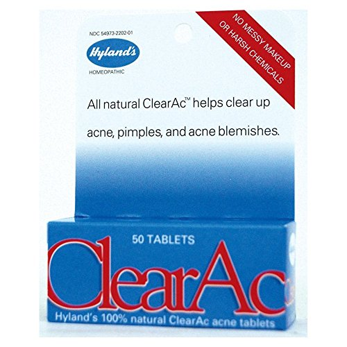 Hylands Clear Ac Tablet - 50 per pack -- 6 packs per case.