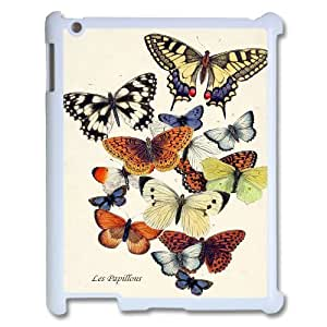 Butterfly ZLB580424 Customized Phone Case for Ipad 2,3,4, Ipad 2,3,4 Case
