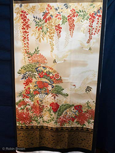 Asian Charm Quilted Wall-hanging