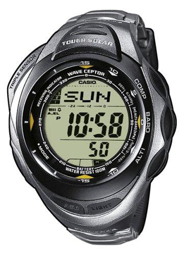 Casio PRW-1200T-7VER - Reloj digital unisex de cuarzo con correa de titanio