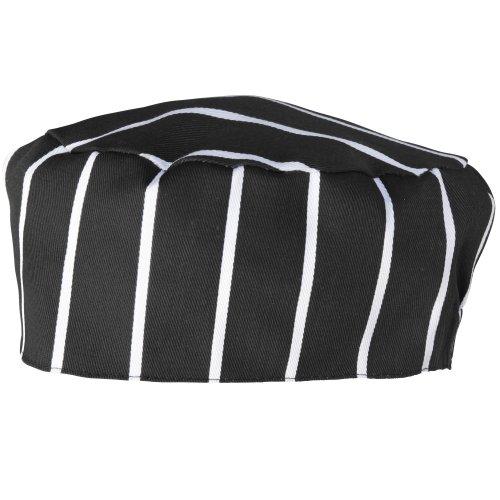 Premier Unisex Chefs Skull Cap (One Size) (Black/White