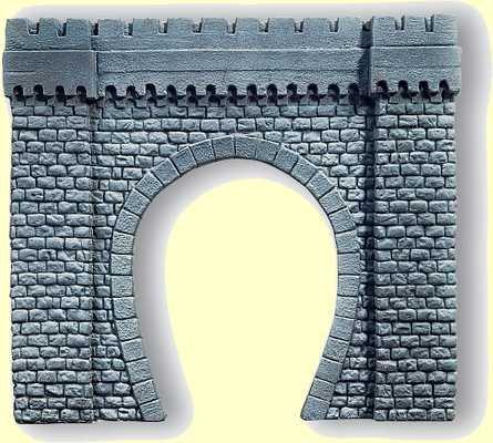 Noch 67350 Tunnel portal 1-track  G Scale