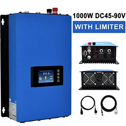 ECO-WORTHY 1000W Solar Power ON Grid Inverter w/Limiter Wechselrichter Mppt DC45-90V Home