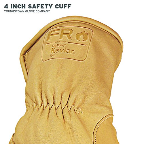 Youngstown Glove 12-3290-60-L Flame Resistant Waterproof Ultimate Lined with Kevlar Gloves, Large by Youngstown Glove Company (Image #4)