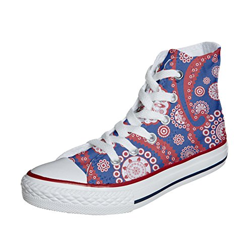 Converse All Star personalisierte Schuhe (Handwerk Produkt) Vintage Paysley
