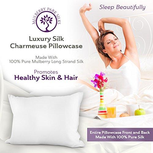 Pure Silk Pillowcase 100 Mulberry Silk Oeko Tex