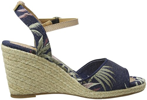 Pepe Jeans Women's Shark California Espadrilles Blue (Dk Denim 559) cheap ebay cheap sale 100% original free shipping shopping online unZzly8T